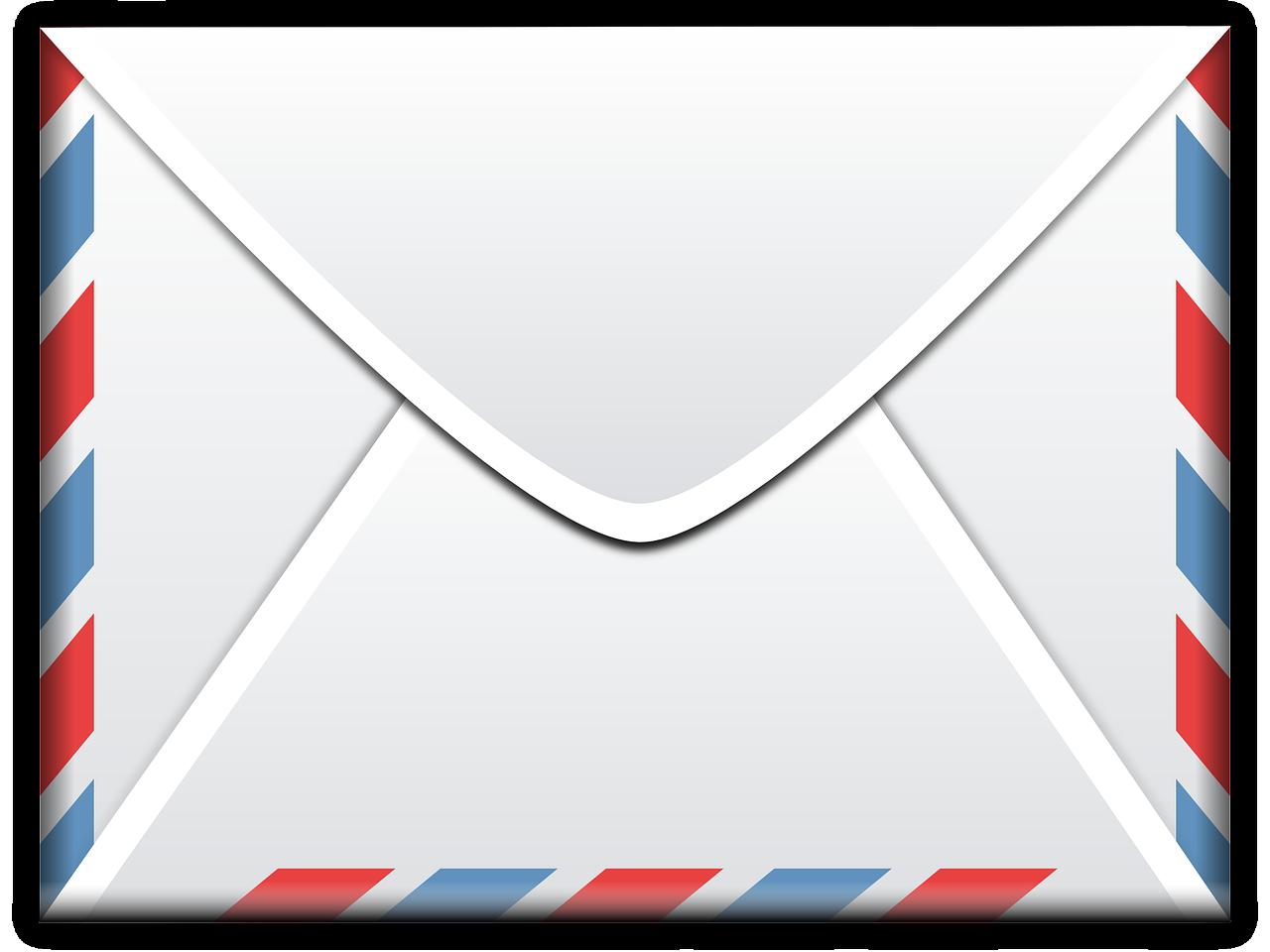 Klassischer Mail Brief