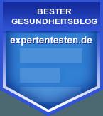 expertentesten.de bester Blog Auszeichnung