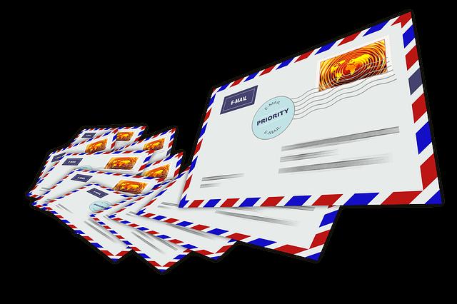 mehrere email Briefe als Vorlage