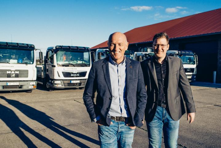 Bernhard Deermann und David Hericks (Geschäftsführung)