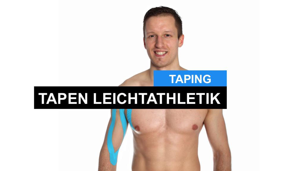Kinesiologisch Tapen - Kinesiologie Taping in der Leichtathletik