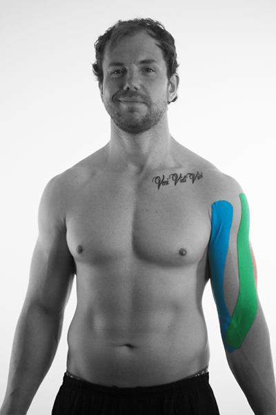 tape anlage biceps bizeps tapen