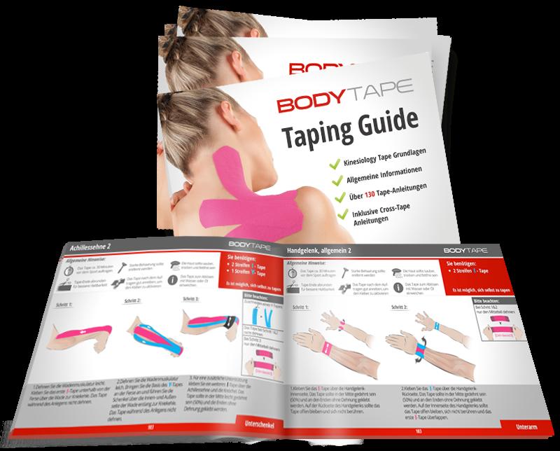 Taping Guide für Kinesio Tape und Cross tape