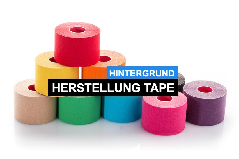 Die Herstellung kinesiologischer Tapes