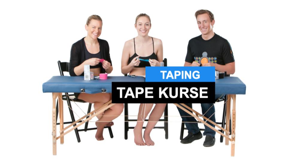 Tape Kurs - Warum kinesiologisch Tapen lernen?