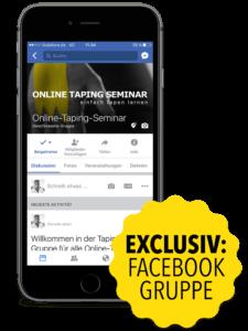 facebook gruppe online taping kurs und body tape