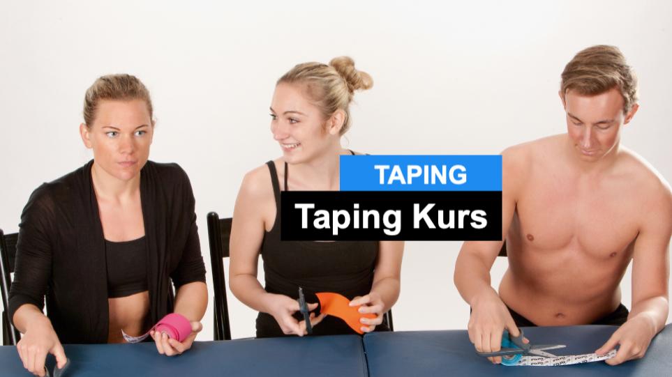 Tape Kurs - Taping-Seminare. Wer sie besuchen sollte.