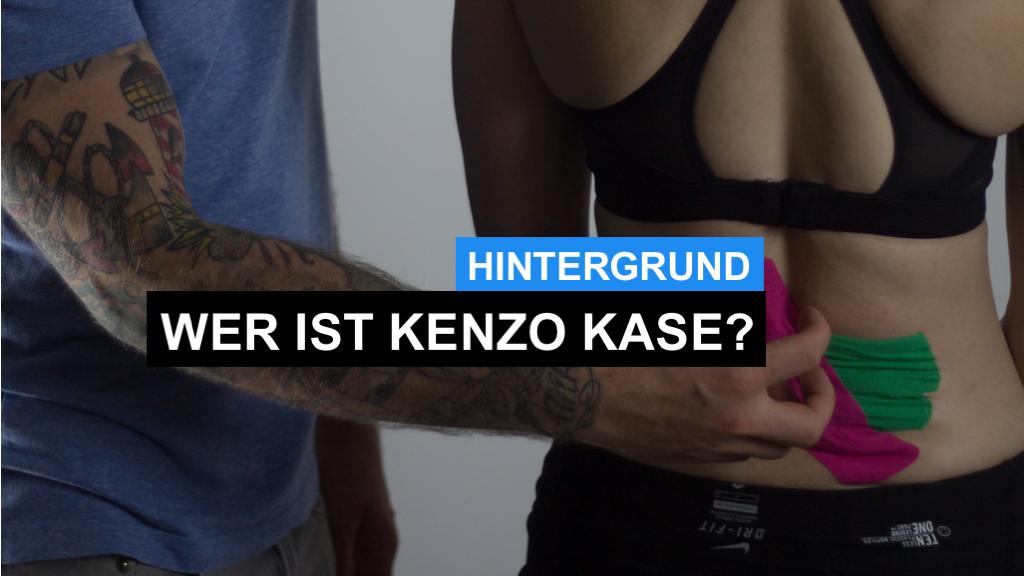 Erfinder der Kinesio-Tape-Methode: Kenzo Kase - Wer ist Kenzo Kase