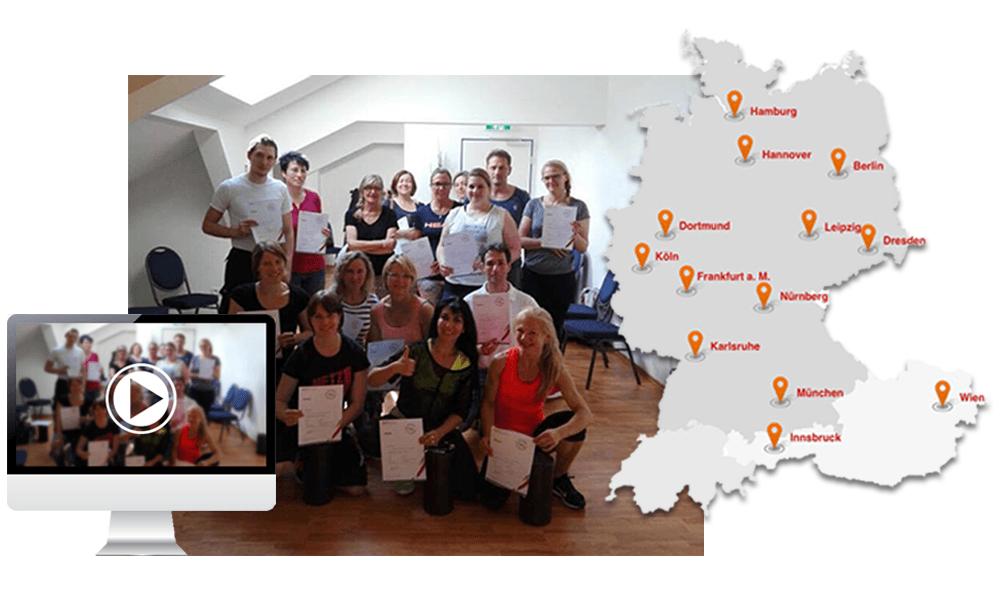 tapen lernen im Kinesio kurs werde jetzt teilnehmer