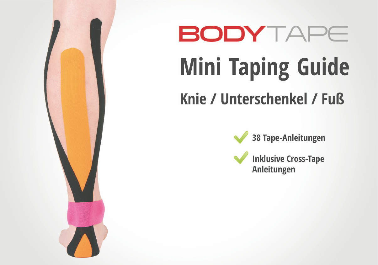 knie tapen taping guide sofort download