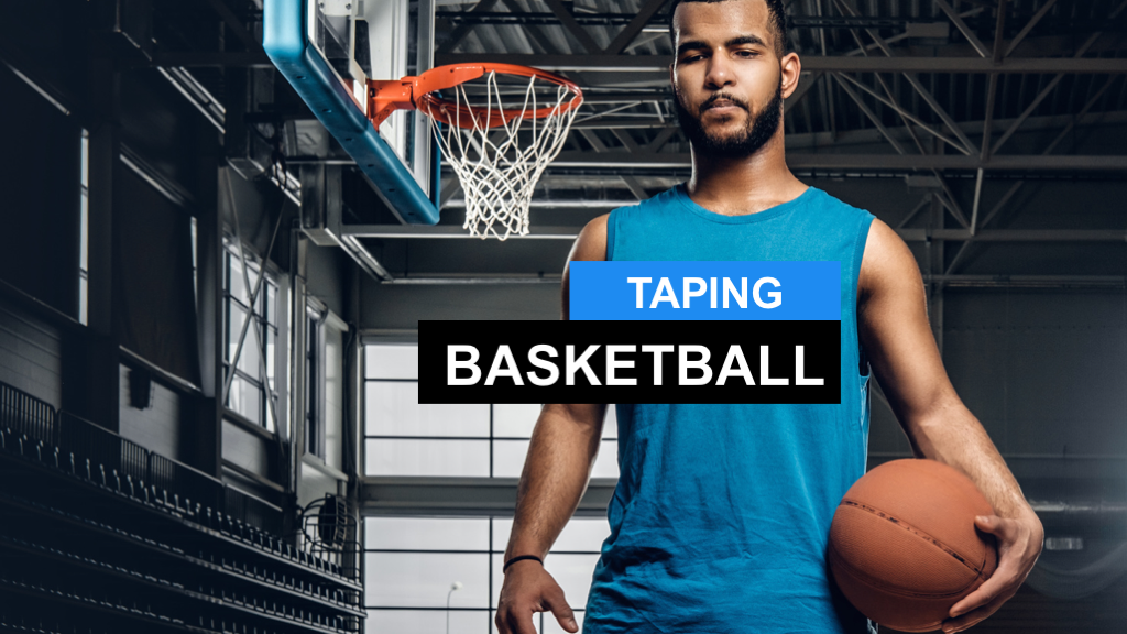 Kinesio Tape Basketball - Kinesiologie Taping im Basketball