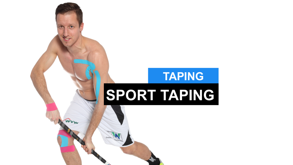 Sport Taping - Was sind eigentlich Tapeverbände?