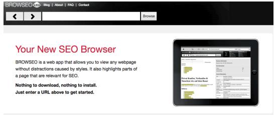SEO Audit Browser