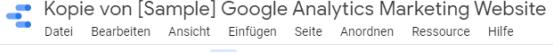 google data studio bericht