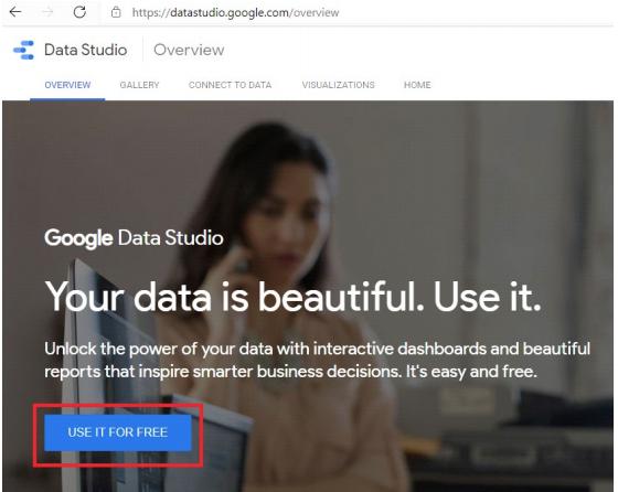 google data studio anmeldung