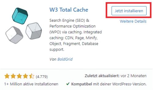 wordpress optimierungs plugins