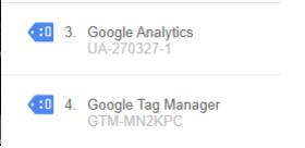 Google Tag Manager aktiv test