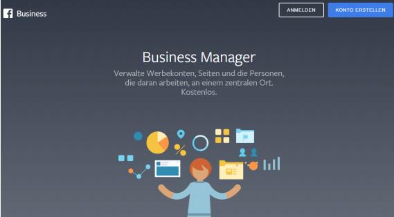 Facebook Anzeigen Konto mit dem Business Manager verknüpfen