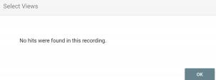 UTM Parameter No Records