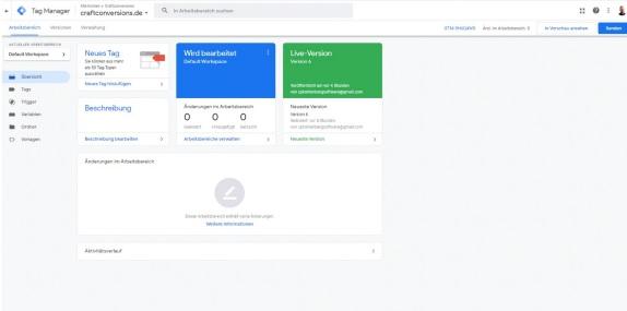 Google Tag Manager Wordpress verbinden
